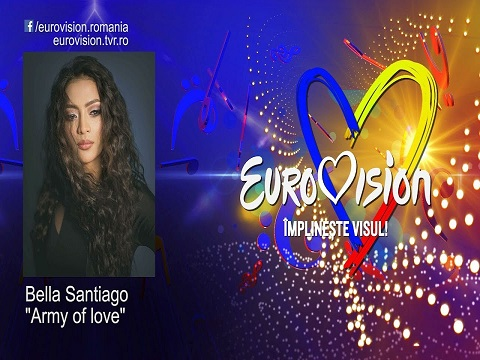 Bella Santiago - Army of love, melodie noua, videoclip, Bella Santiago, Army of love,