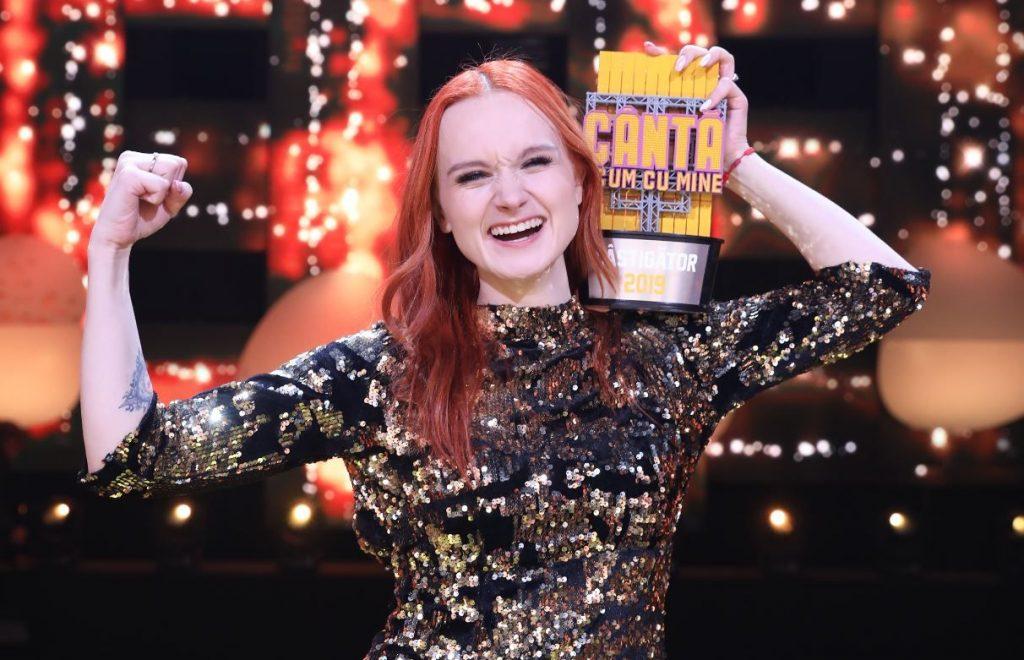 Ludmila Danilceac este câștigătoarea primei ediții de la Cântă acum cu mine
