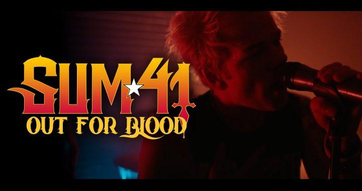 Asculta online Sum 41 - Out For Blood, single nou