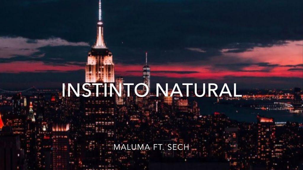 Asculta online, Maluma - Instinto Natural, muzica noua,
