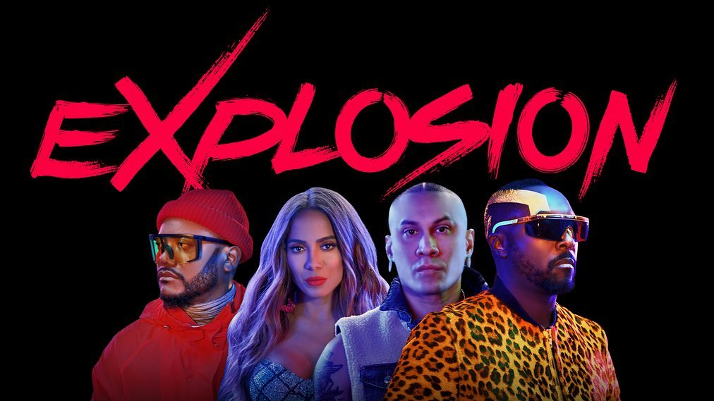 Asculta live, Black Eyed Peas & Anitta - eXplosion, single nou,