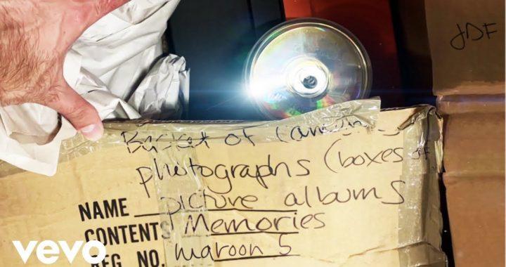 Asculta online, Maroon 5 - Memories, single nou,