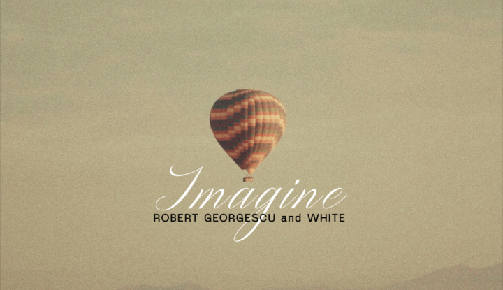 Asculta live, Robert Georgescu & White - Imagine, single nou