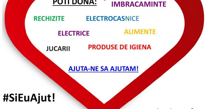 "Radio Click Romania promoveaza campania ""Si eu ajut"", Radio Click Romania promoveaza, campania ""Si eu ajut, #SiEuAjut, Radio Click, Radio Click Romania,"