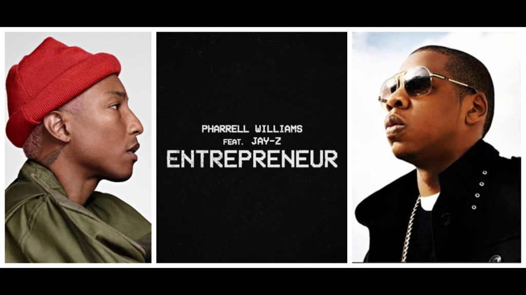 Asculta online, Pharrell Williams ft. JAY-Z - Entrepreneur, single nou